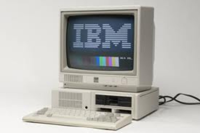 First IBM-PC was invented