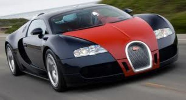 Bugatti Veyron is introduced