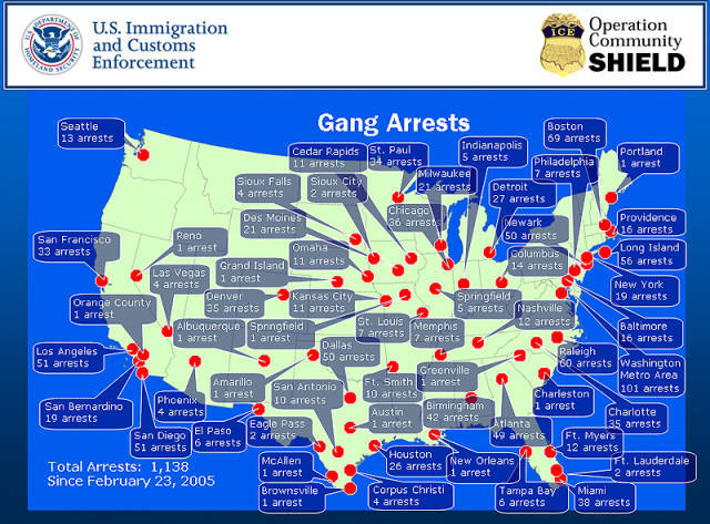 History Of Gangs In America Timeline Timetoast Timelines - Us gang map
