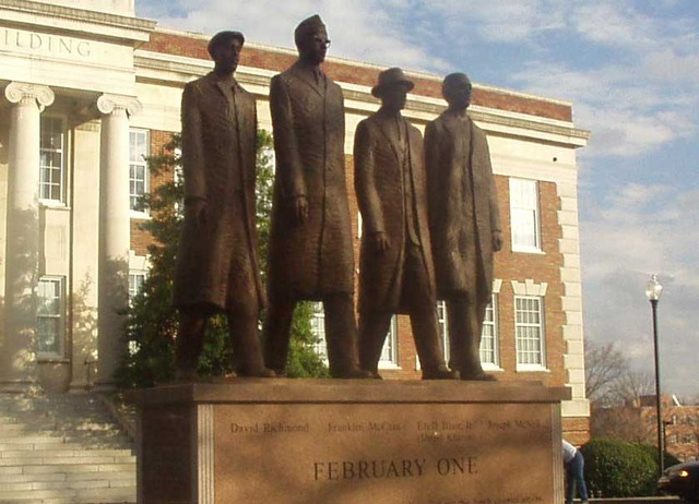 the greensboro four  civil rights movement timeline