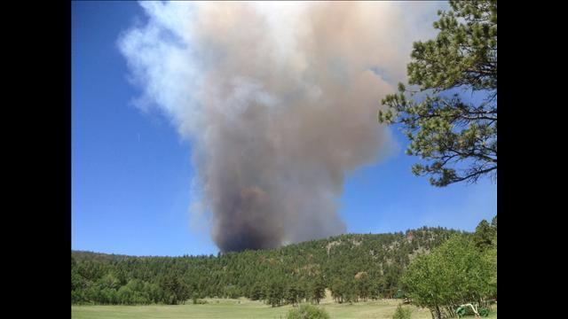 6 a.m. -  Fire is first spotted in Larimer County