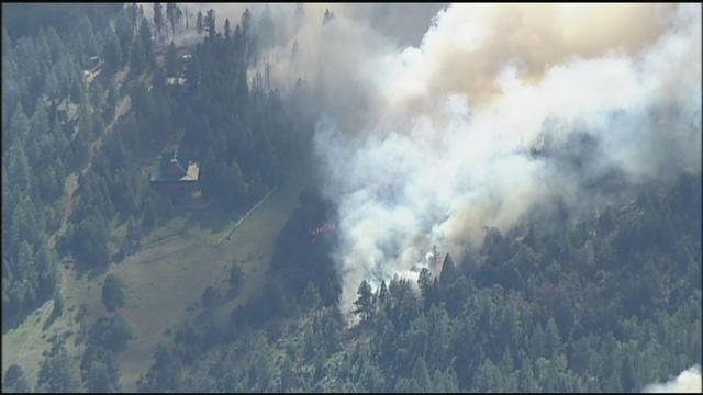 4:08 p.m. - More than 2,000 acres are burning