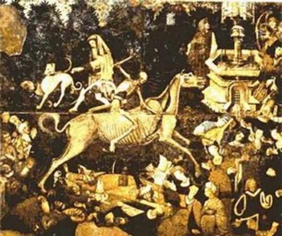 October, 1347 – Black Death arrived in Sicily.