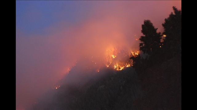 11:35 p.m. -  The High Park Fire is now at 20,000