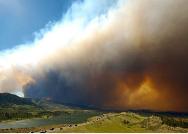 6:37 a.m. - High Park Fire is now more than 36,000 acres