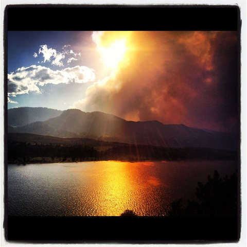 7:45 a.m. - High Park Fire grows to 43,433 acres