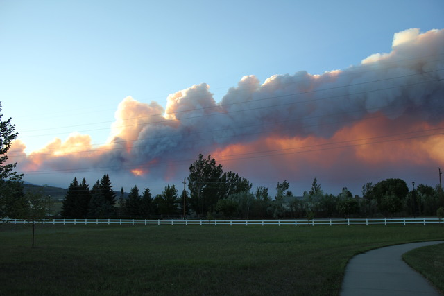 11 a.m. - High Park Fire at 5% containment