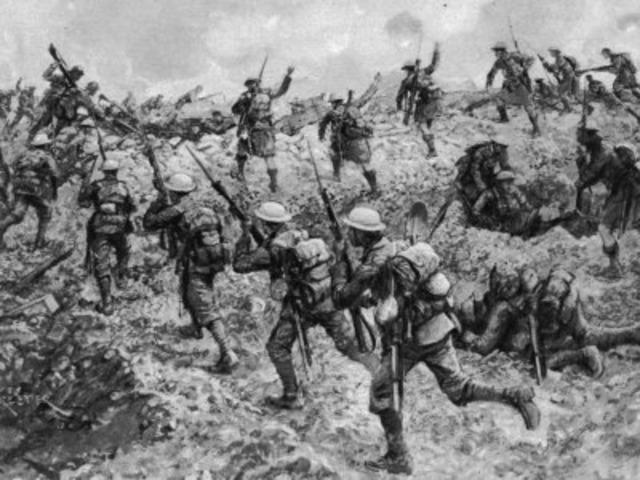 Major Battles of WWI timeline | Timetoast timelines