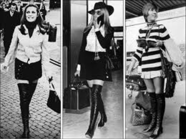 Fashion trends of the 1960's