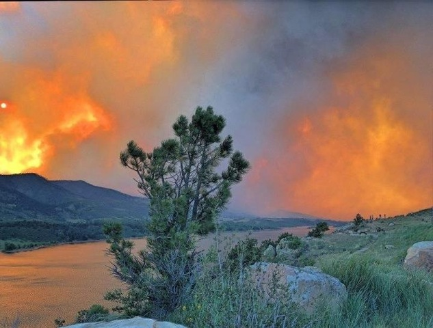 8 a.m. - High Park Fire increases to 46,600 acres