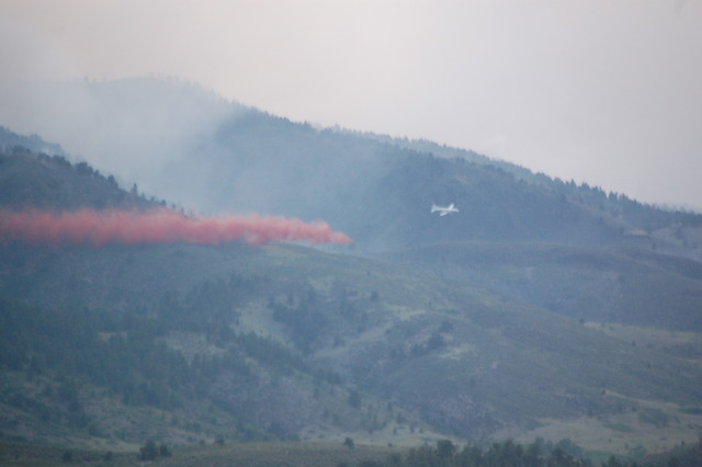 8:15 p.m. - High Park Fire at 10 percent containment