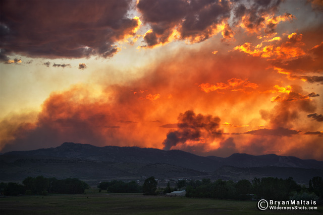 8:45 p.m. - High Park Fire grows to 46,820 acres
