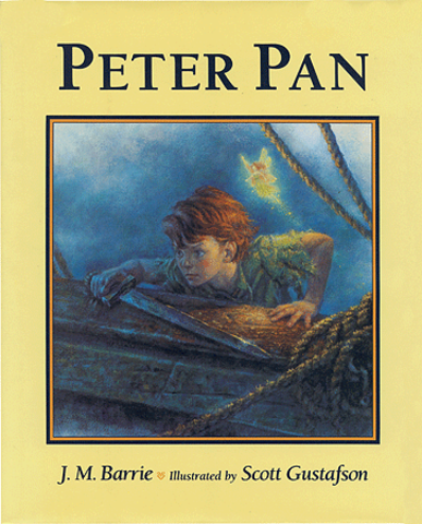 """Peter Pan"" by J.M. Barrie"