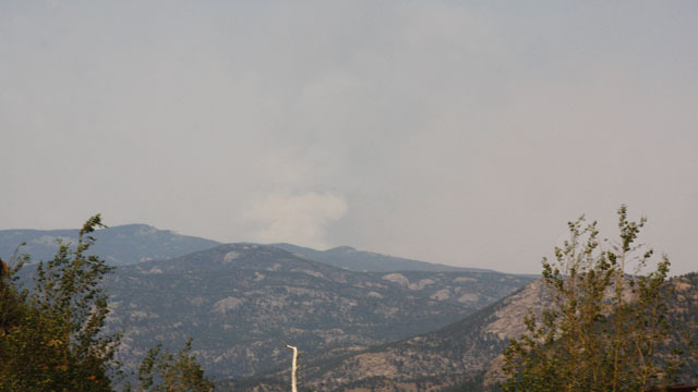 7:30 p.m.- High Park Fire at 50 percent containment