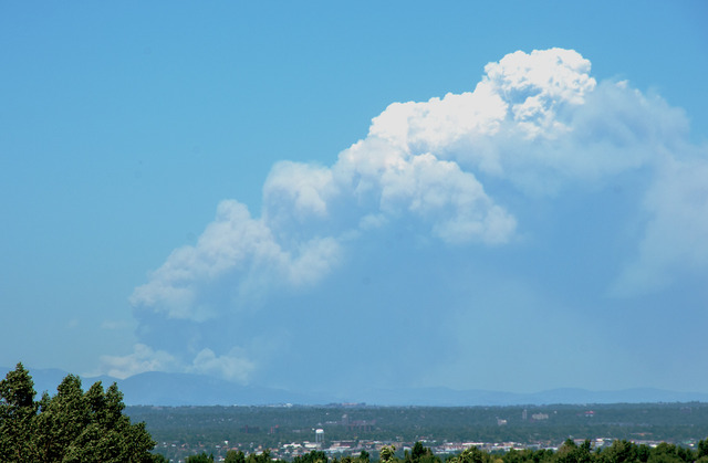 8 p.m. - High Park Fire now 59,845 acres, 55% contained