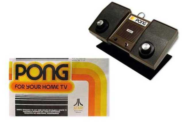 Atari produces Pong.