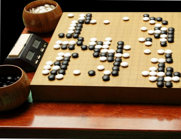 "Japanese game ""Go""."