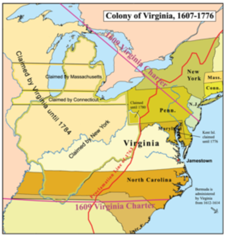 early american history paper virginia colony The first colony was founded at jamestown, virginia by the early 1700s more than 2 million people lived and worked in great britain's 13 north american.