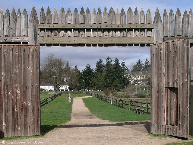 Fort Vancouver Established (British Columbia)