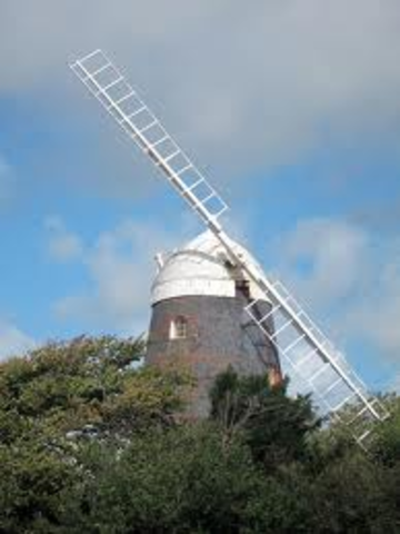 Building of the windmill