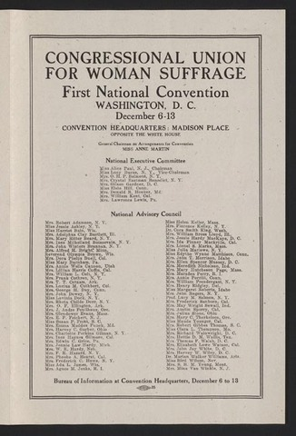 Congressional Union for Woman Suffrage
