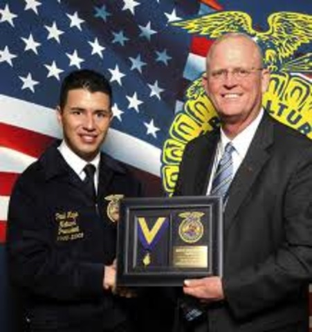 National FFA Founded and First National awards