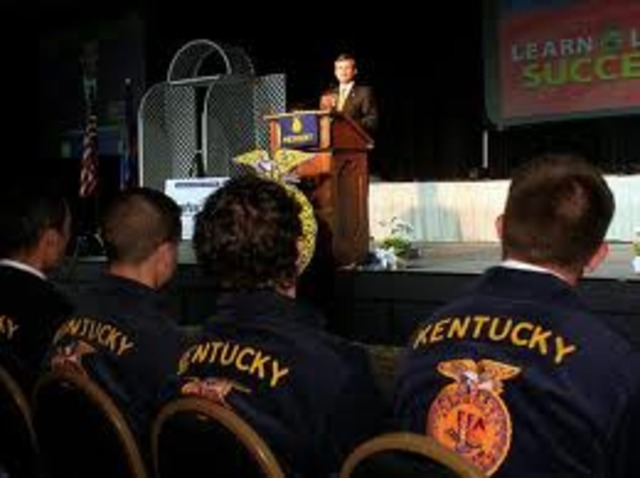 First FFA convention in Kentucky
