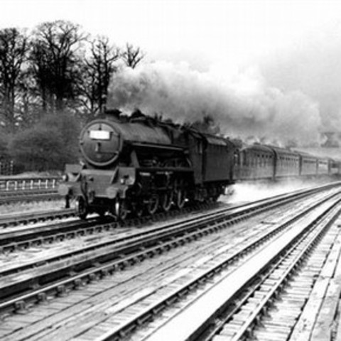 Steam train industrial revolution