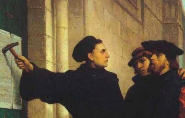 martin luther posts the 95 thesis 500 years have gone by since martin luther's posting of his theses  claiming  that the 95 theses were never nailed to the door of the church but merely sent by .