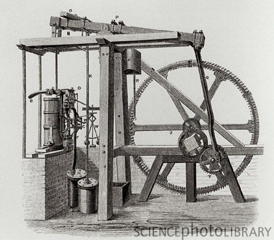 James Watt creates first Model Steam Engine