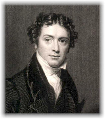 Michael Faraday first presented magnetic induction