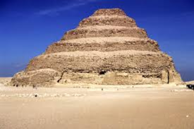 2900 BC: The First Pyramid