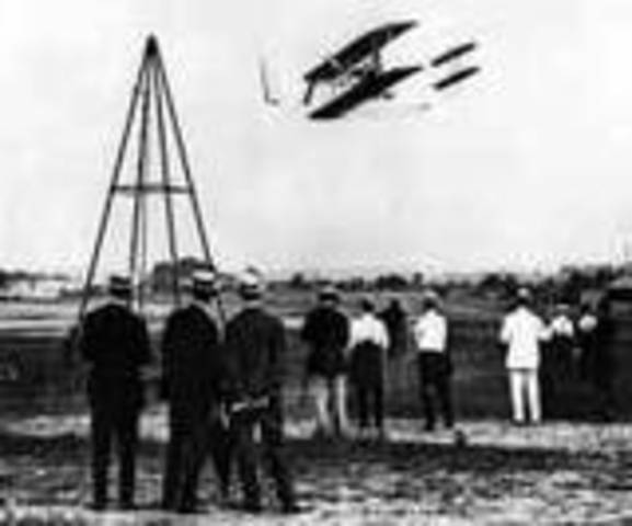 history of the first flight conducted by wilbur and orville wright On this day, wilbur wright and orville wright made history by conducting the first successful flight in heavier-than-air, mechanically propelled craft in 1903 — 113 years ago — in kitty hawk, north carolina wright flyer, the brothers' first aircraft, reached 120 feet in the air for 12 seconds during its maiden flight.