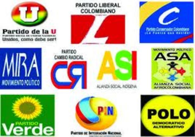 Ultimos 15 temas en cuanto a democracia timeline timetoast timelines - Fundar un partido politico ...
