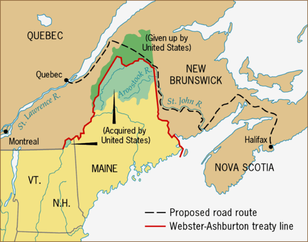 the principal purpose of the webster ashburton treaty of 1842 Thewebster+ashburtontreaty1 attemptswhichhavebeenheretoforemadeforthatpurpose,and the webster-ashburton treaty.