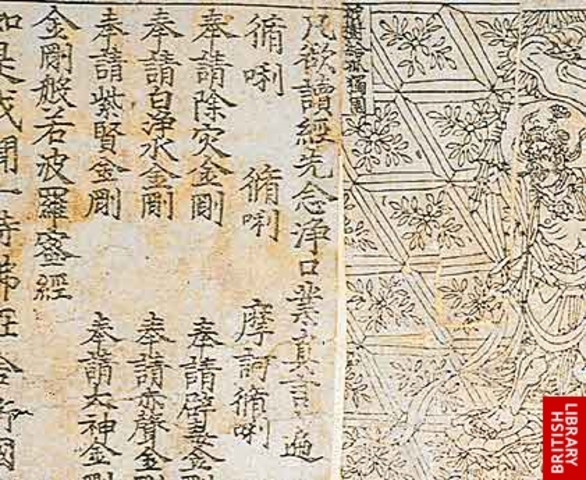 The Invention of Woodblock Printing in the Tang 618906