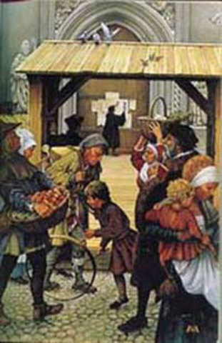 The Posting of The 95 Theses