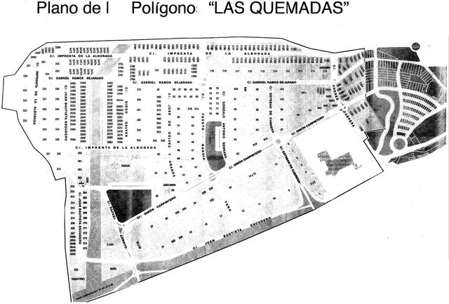 Search is widen to the industrial area called Las Quemadas