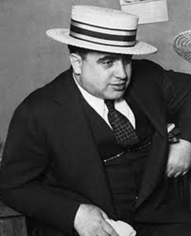 thesis on al capone The police and also the potential witnesses by using bribery many cases were evaded by capone but during june 5, 1931 he was indicted 22 counts of tax evasion.
