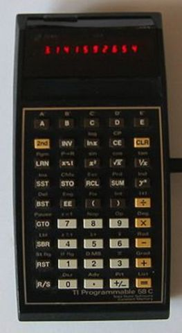 "Texas Instruments introduces the first ""pocket calculator"