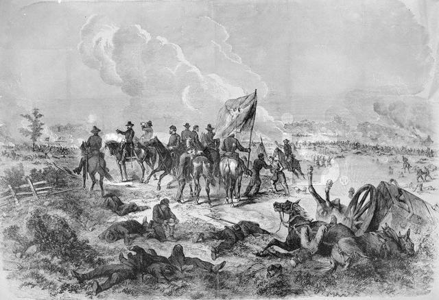 an overview of the bloody battle of chickamauga Gettysburg, or chickamauga but by far the most meticulous and far reaching  investigation into the battle casualties of the american civil war was conducted.