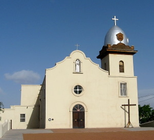 The Fisrt Spanish Missions were Established