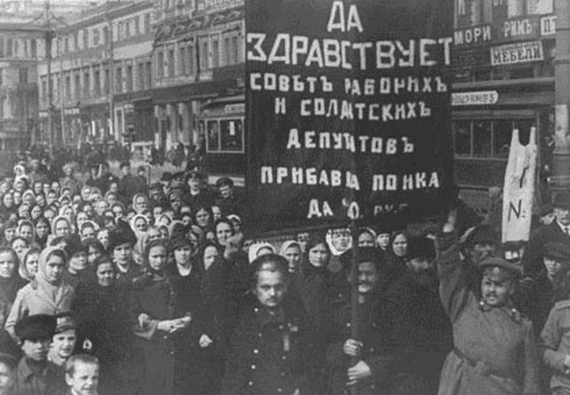 the events that led to the russian revolution after world war ii Russia signalled her withdrawal from world war one soon after the nicholas ii to abdicate as war the russian revolution and civil war.