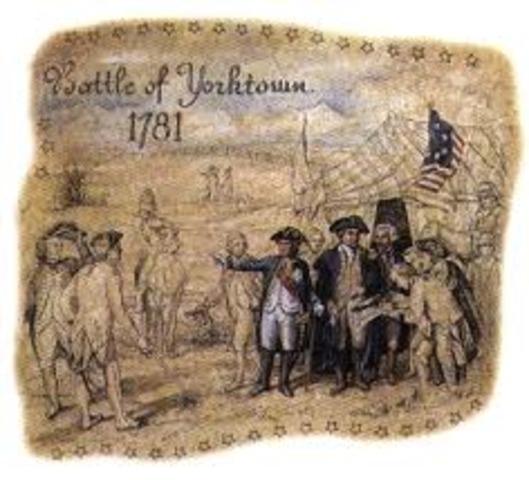 revulutionary war+discriptive essay of yorktown