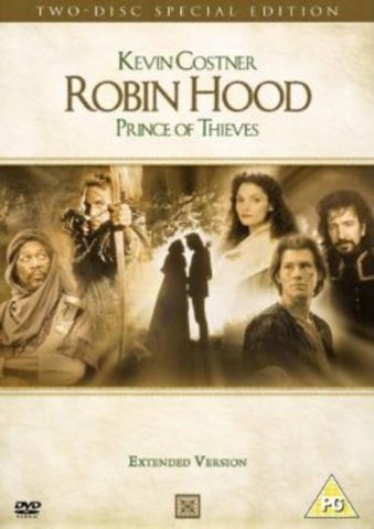 Robin Hood Prince of Thieves (DvDs)