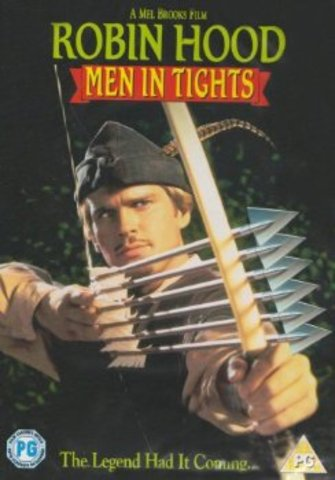 Robin Hood Men In Tights (DvDs)
