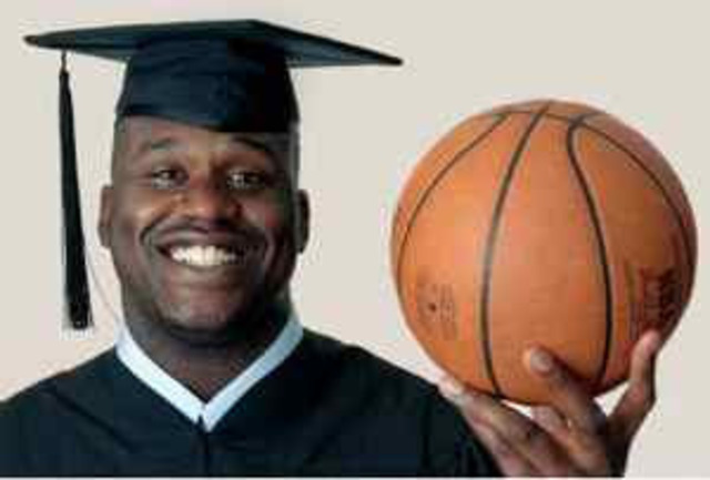 Shaquille O'Neal's University Career.