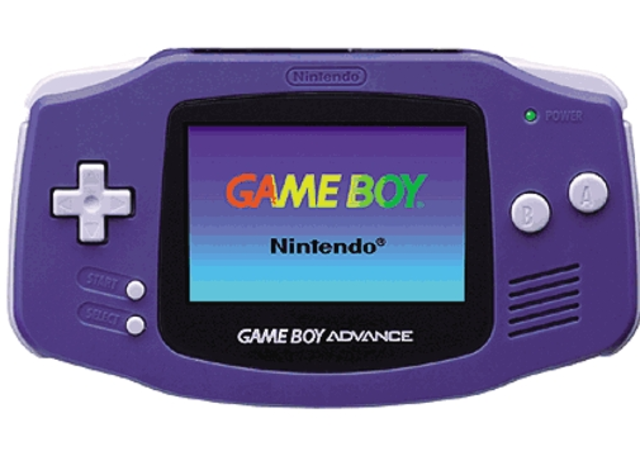 La primera consola Game Boy Advance