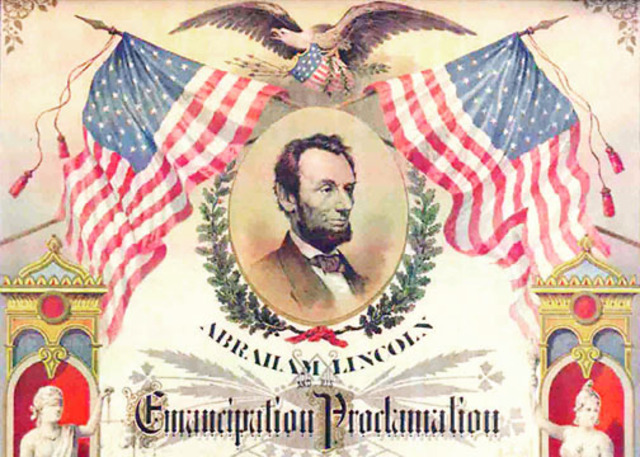 Emancipation Proclamation Is Issued.
