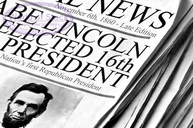 Lincoln Re-elected.